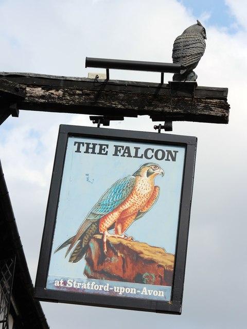 The Falcon sign