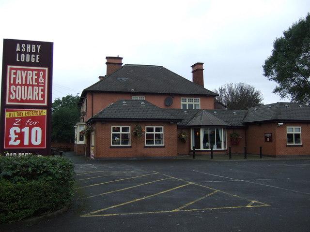 The Ashby Lodge pub