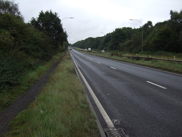 A18 heading south east