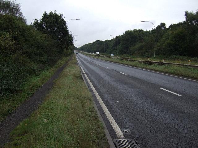 A18 heading south east