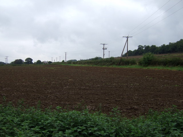 Farmland on the site of the Medieval site of Raventhorpe Village