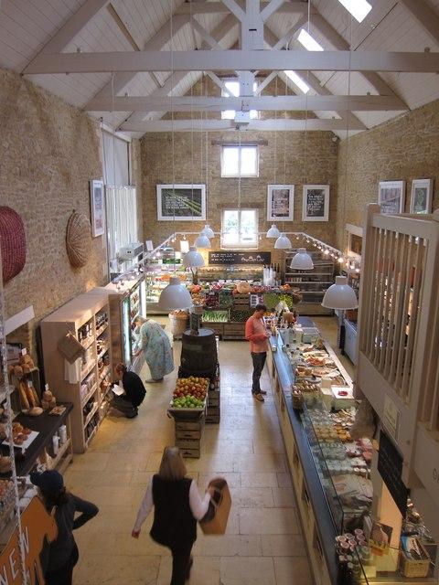 Daylesford farm shop