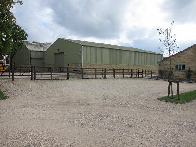 Barns at Daylesford New Farm