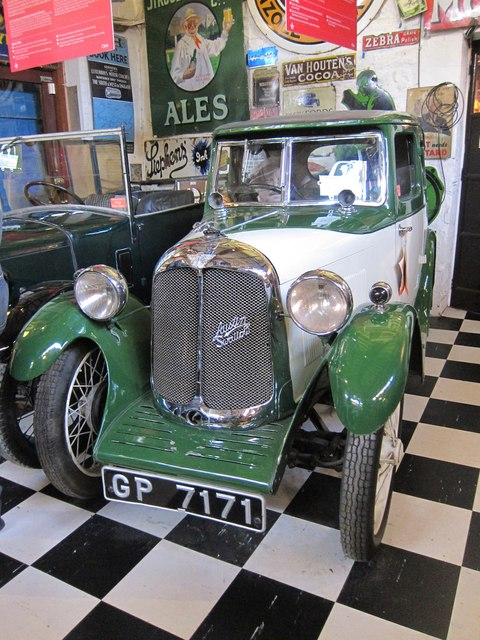Austin Swallow at Cotswold Motoring Museum