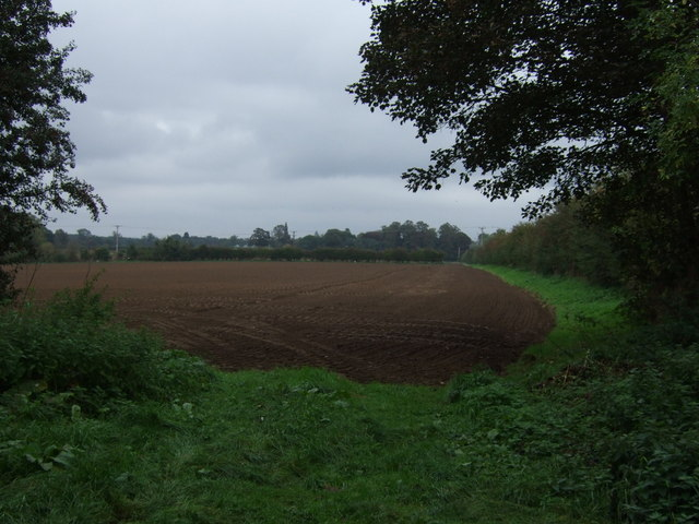 Farmland near Scawby