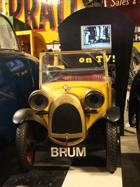 Brum at Cotswold Motoring Museum