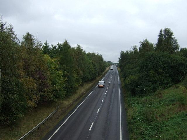 A15 near Scawby