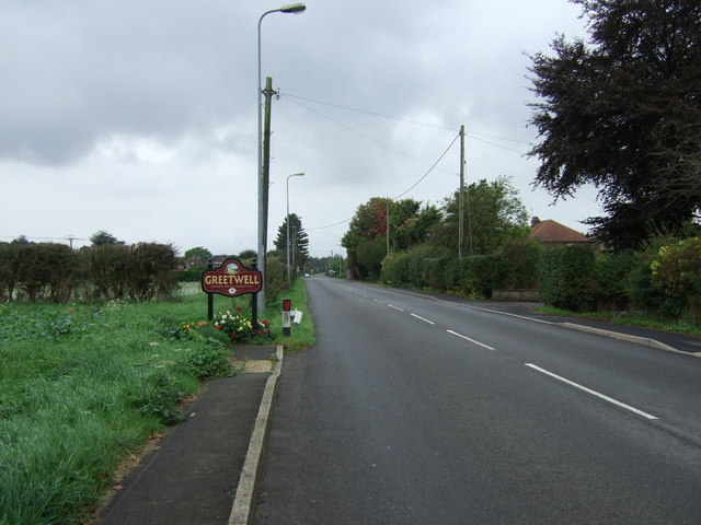 Entering Greetwell