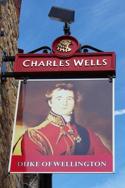 Duke of Wellington sign