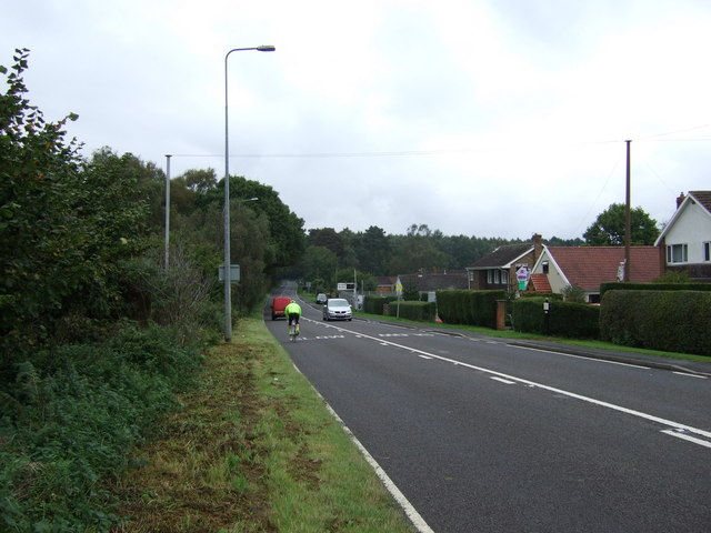 B1398 heading north, Greetwell