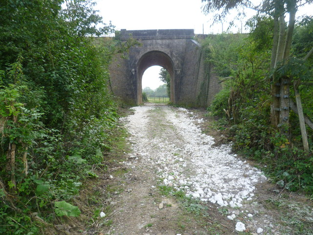 The Sussex Border Path passes under the Uckfield Line