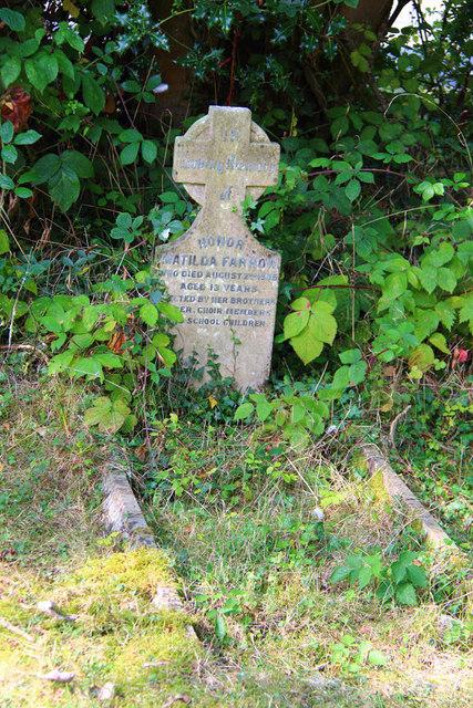 St Thomas, Church Lane, Noak Hill, Havering - Gravestone