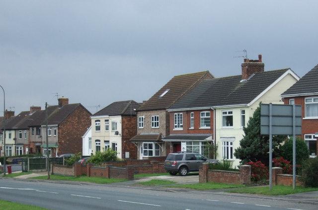 Houses on Messingham Road