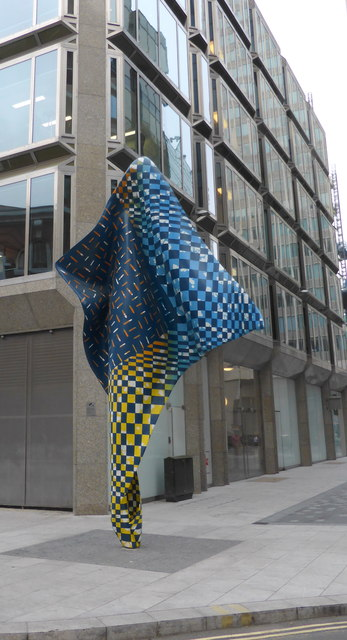 Wind Sculpture, by Yinka Shonibare, Wilcox Place, London