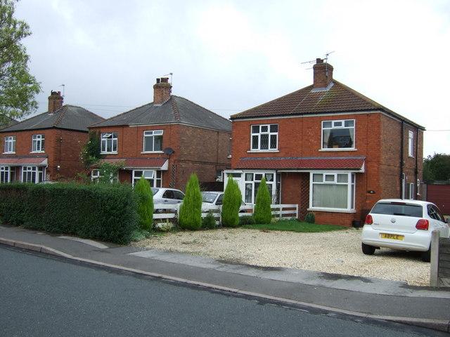 Houses on Moorwell Road