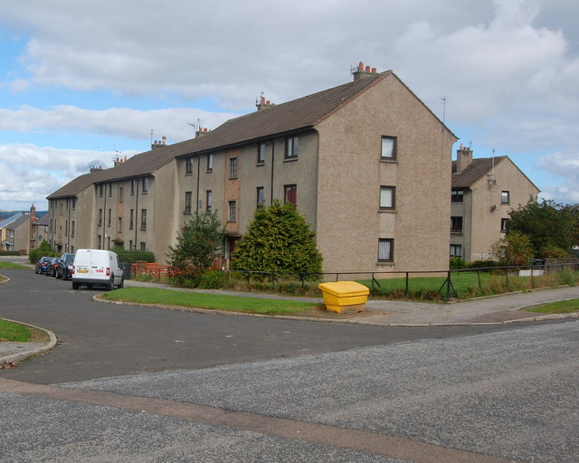 Council flats, Deansloch Place, Northfield