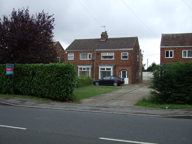 Houses on Moorwell Road, Yaddlethorpe