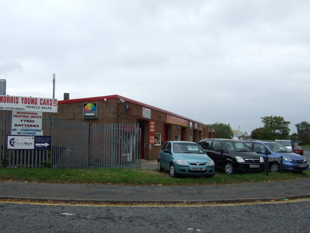 Used car sales off South Park Road