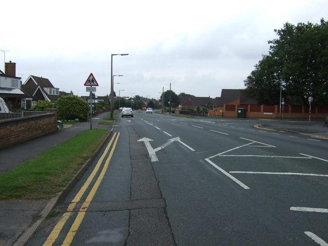 Chancel Road, Bottesford (B101)
