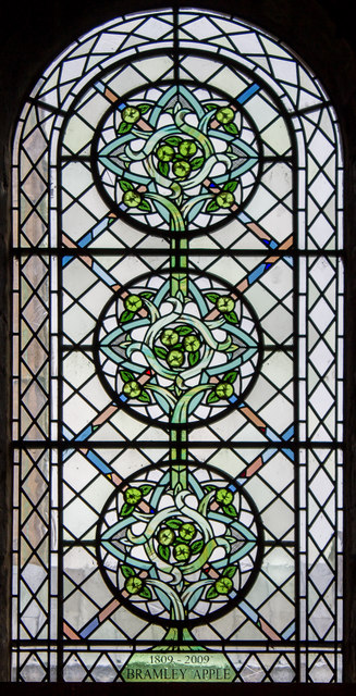 Bramley Apple window, Southwell Minster