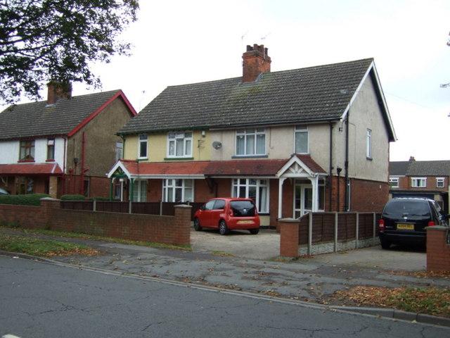Houses on Burringham Road