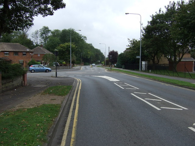 Burringham Road (B1450)