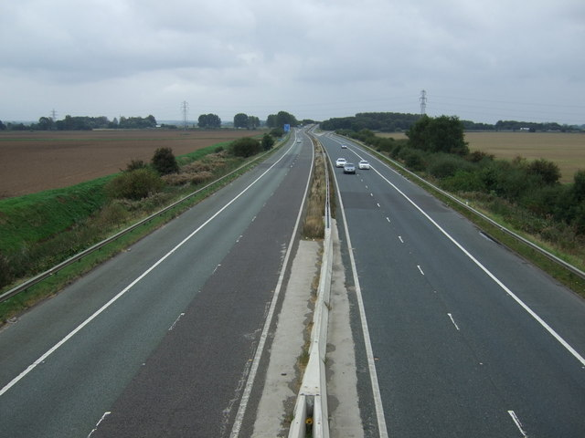 M181 heading south west