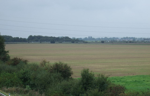 Farmland west of the M181