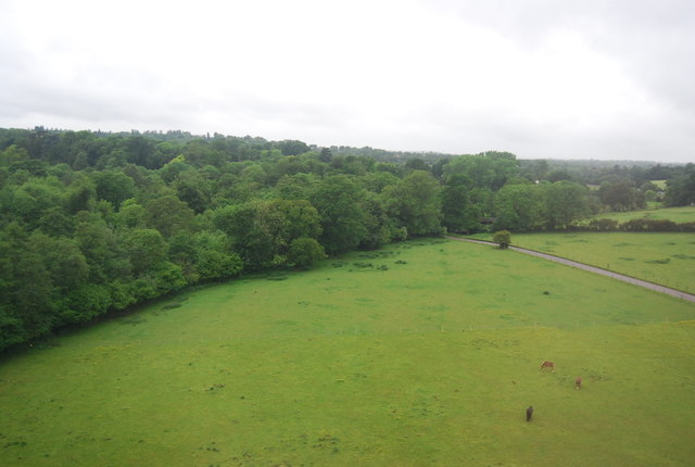 View west from the Welwyn Viaduct
