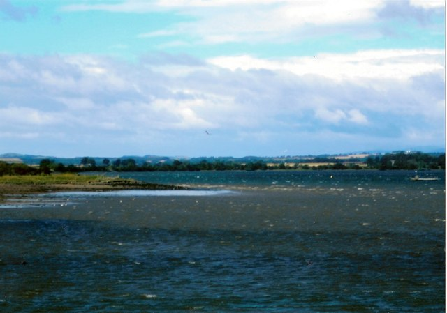 Rossie Spit in Montrose Basin