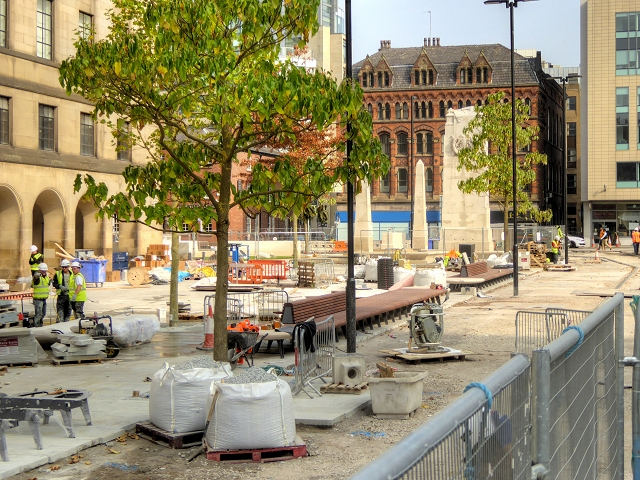 St Peter's Square Redevelopment - Sept 2014