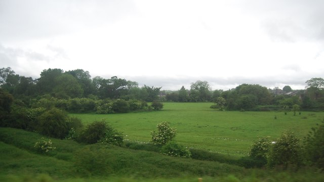 Countryside south of Welham Green