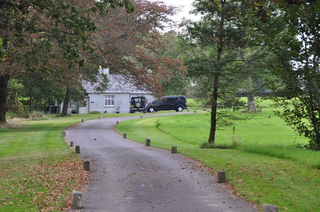 West Somerset : Bittescombe Manor Driveway