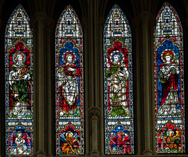 East window (upper), Southwell Minster