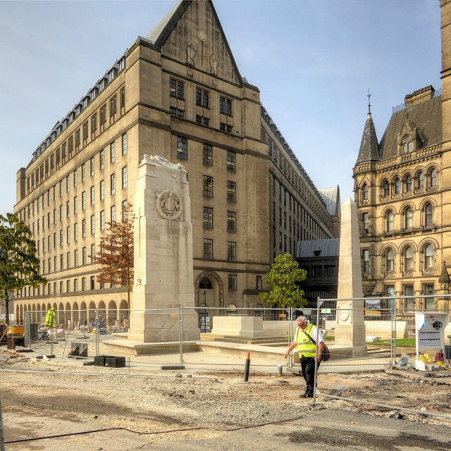 Manchester Cenotaph and Town Hall Extension
