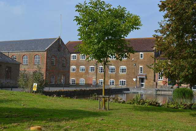 Former Clarks factory at Dowlish Ford