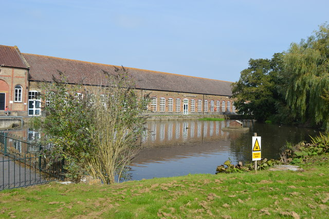 Former Clarks shoe factory at Dowlish Ford