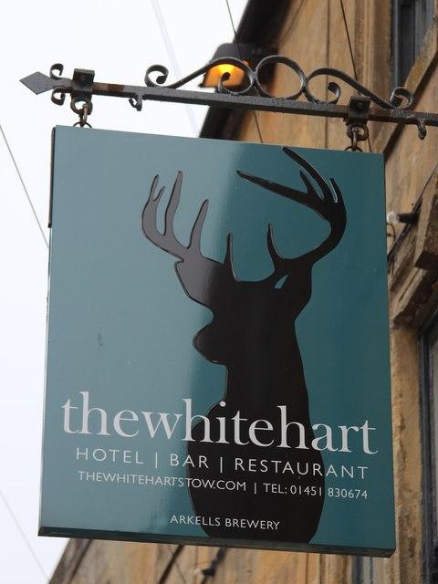 Thewhitehart sign