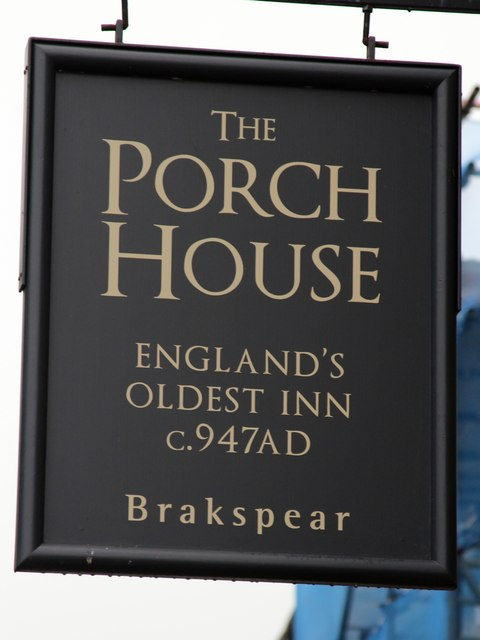 The Porch House sign