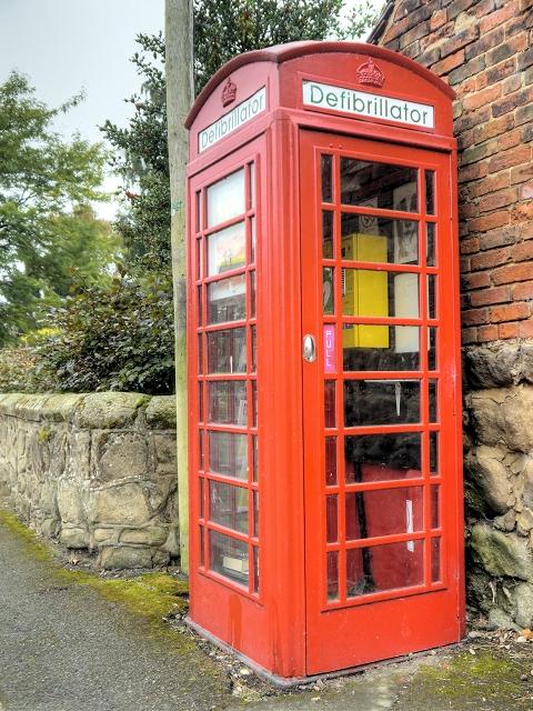Old Red GPO Telephone Kiosk, Barrow Upon Trent