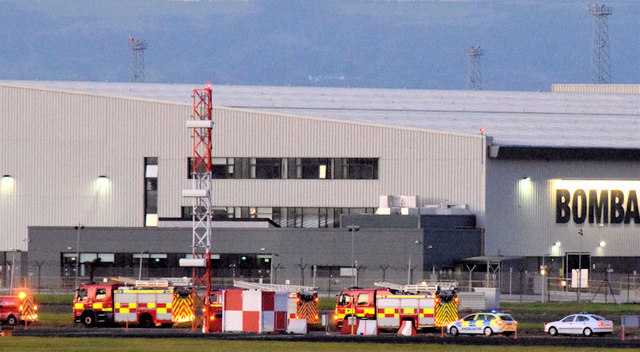 Rescue exercise, Belfast City Airport - September 2014(3)