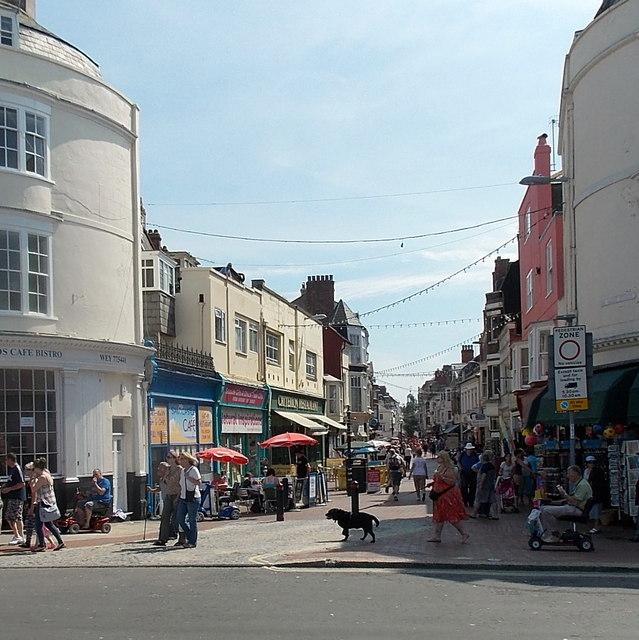 St Mary Street, Weymouth