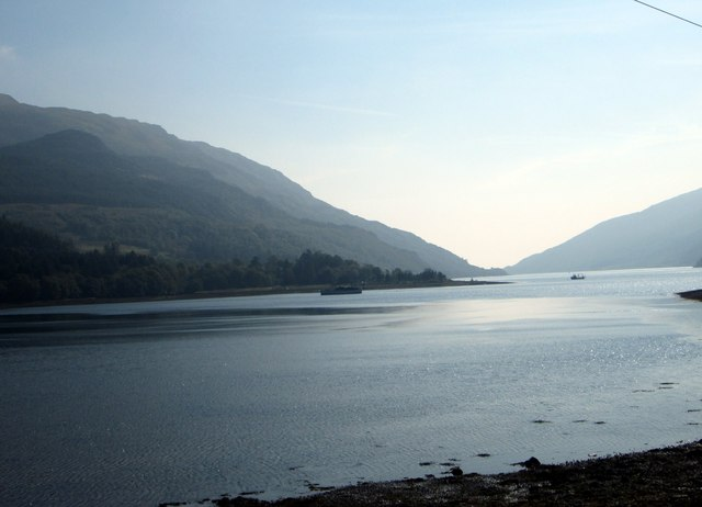 Looking south on Loch Striven from near Craigendive