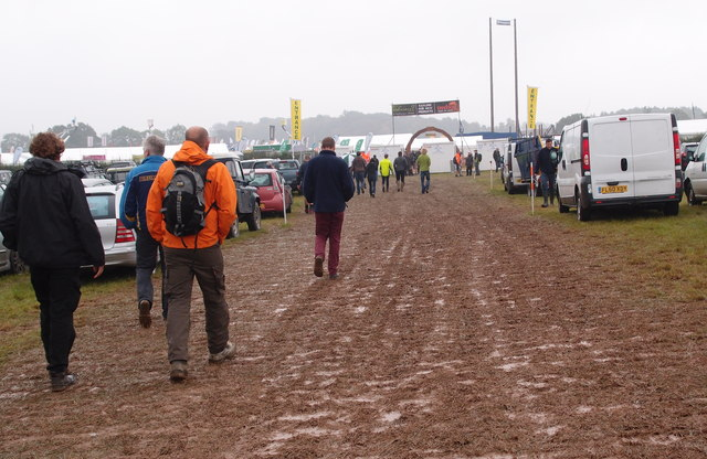A wet day at APF 2014