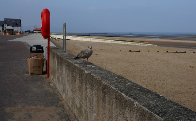 The Promenade at Rhyl