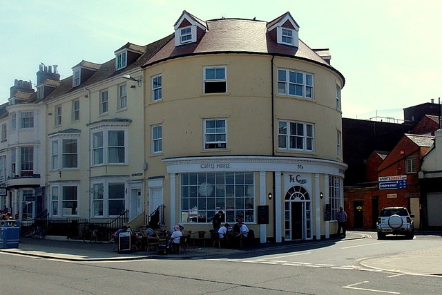 The Curves Coffee House in Weymouth