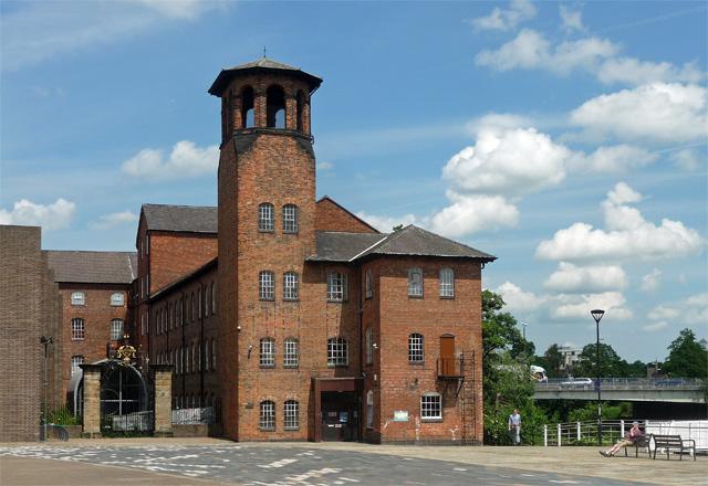 Former silk mill, Full Street, Derby