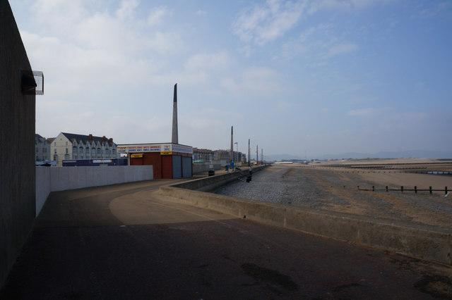 The Promenade at Rhyl