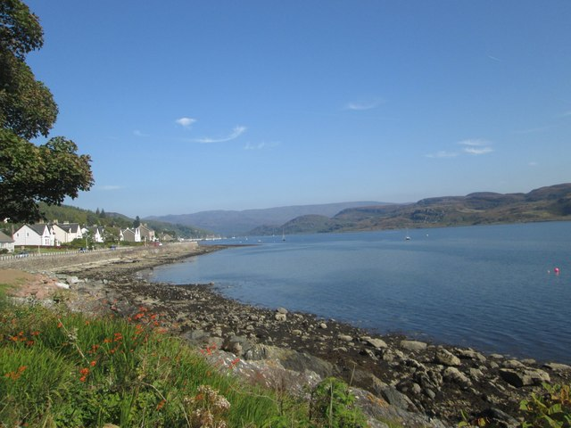 The Tighnabruaich waterfront