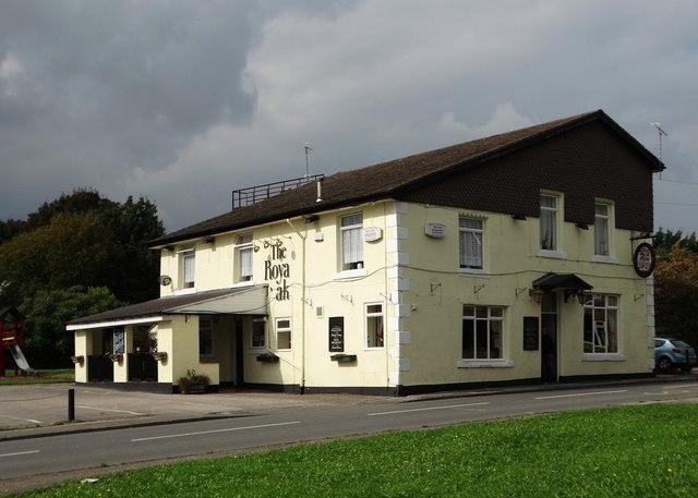 """""""The Royal Oak"""", Platts Common"""